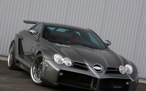 Картинка McLaren, SLR, Mercedes, 2009, FAB Design