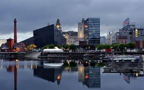 Картинка город, обои, картинка, Ливерпуль