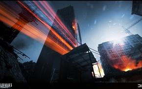Картинка город, Battlefield 3, Aftermath, Premium