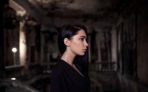 Картинка профиль, боке, Maxim Guselnikov, Марина Манга