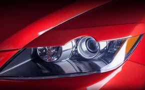 Картинка ксенон, фара, размытость, Мазда, Mazda, красная, боке, макро., кроссовер, левая, передняя, ЦХ-7, CX-7, среднеразмерный