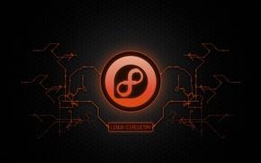 Картинка Fedora, Linux, Electric