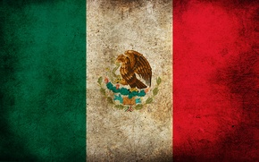 Картинка цвета, полоски, флаг, Мексика, картинка