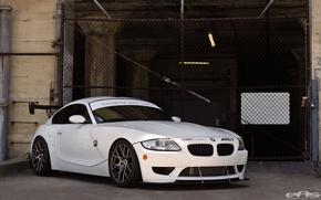 Картинка BMW, White, Alpine, Z4M, EAS, E86