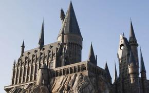 Картинка замок, hogwarts, themepark