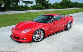 Картинка Z06, Corvette, forged, strasse