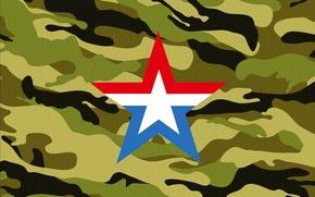 Картинка Знак, Армия, Эмблема, Россия, Камуфляж