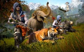 Картинка Лук, Оружие, Ubisoft, Far Cry 4, Кират