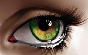 Картинка глаз, ресницы, рисунок