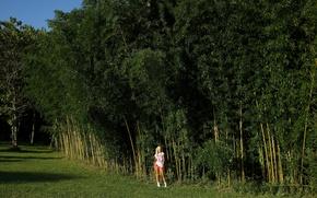 Картинка blonde, Franziska, bamboo, Franziska Facella