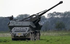 Картинка установка, самоходная, артиллерийская, 152-мм, «Дана», пушка-гаубица