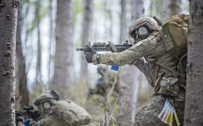Картинка оружие, солдаты, Alaska Air National Guard