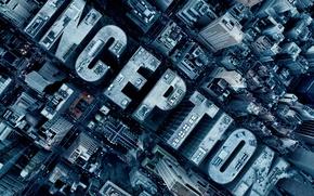 Обои начало, фильм, фантастика, город, Inception