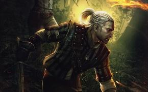 Обои Ведьмак 2, Assassins of Kings, Убийца Королей, The Witcher 2