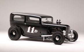 Картинка Ford, автомобиль, Hot Rod, 1932, Sedan, Tudor