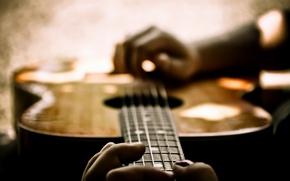 Обои музыка, фон, гитара