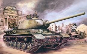 Картинка война, рисунок, арт, Ис - 1