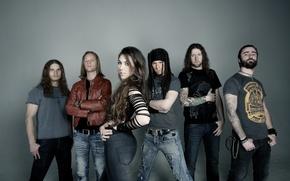 Обои Melodic Death Metal, MDM, Amaranthe, Power Metal