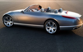 Обои concept, Renault, кабриолет