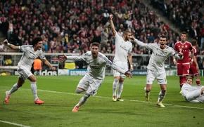 Картинка Спорт, Футбол, Adidas, Football, Champions League, Реал Мадрид, UEFA, Real Madrid, Sport, Ronaldo, Pepe, Benzema, …