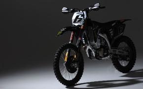 Картинка тень, мотоцикл, yamaxa