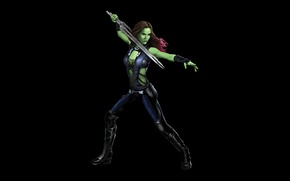 Картинка Marvel, Стражи Галактики, Guardians of the Galaxy, Gamora, Гамора