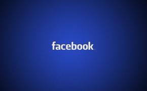 Обои минимализм, лого, logo, minimalism, 1920x1200, бренд, facebook, brand, social network, социальная сети