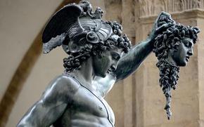 Картинка Италия, памятник, Флоренция, архитектура