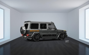 Картинка Mercedes, GoodFon, 3D tuning