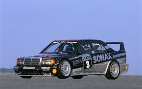 Картинка mercedes-benz, 1990, 1992 dtm champion, evo II. 235hp, 190e. 2.5-16