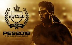 Картинка Италия, Legends, Легенда, pro evolution soccer, Pes 2016, Konami Digital Entertainment, Baggio, my club
