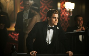 Обои вампир, Пол Уэсли, парень, Стефан Сальваторе, актер, The Vampire Diaries, дневники вампира