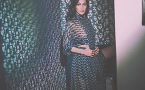 Картинка девушка, поза, платье, Bella Hadid