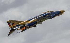 Обои F-4F, полет, Phantom II, McDonnell Douglas