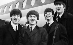 Обои Битлы, 60-е, The Beatles, музыканты, рок, легенда, Beatles, музыка, Битлз, талант, Ринго Стар, Джордж Харрисон, ...