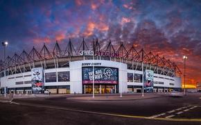 Картинка wallpaper, sport, football, Derby County FC, iPro Stadium