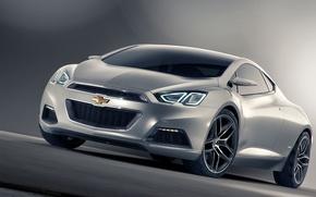 Картинка авто, Concept, серый, концепт, Chevrolet Tru 140S
