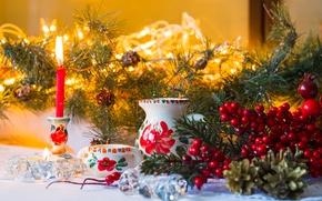 Обои christmas, decoration, new year, рождество, новый год