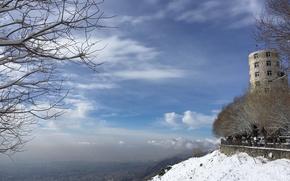 Картинка Snow, mountain, friday, Tehran
