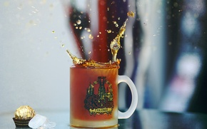 Картинка брызги, чай, кофе, кружка, чашка, tea, Koln, кельн, caffee