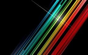Обои цвета, блик, полосы, линии