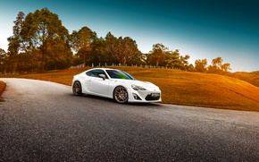 Картинка Toyota, Car, White, Sport, GT86, Shade, Photoworks