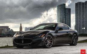 Картинка Maserati, GranTurismo, Vossen, Wheels, 2016