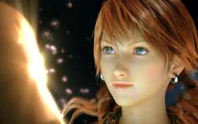 Картинка girl, oerba, vanille, dia, final, fantasy