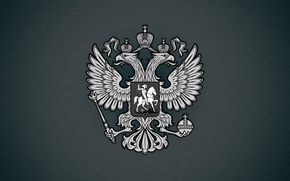 Картинка герб, россия, орел