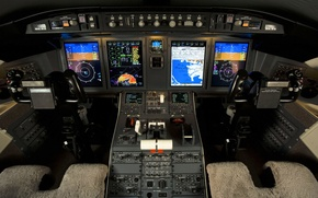 Картинка BOMBARDIER, Flight Deck, Challenger 605