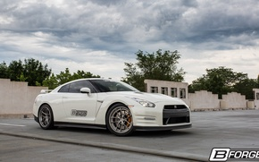 Картинка GTR, Nissan, Step, R-35, Wheels, Lip, B-Forged, 530