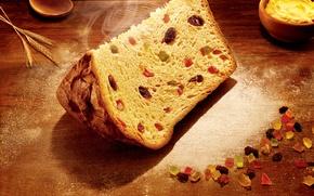 Картинка christmas, nuts, bread