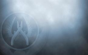 Обои Logo, Kit, Defuse, Counter Strike Global Offensive, Counter Terrorist, CS GO