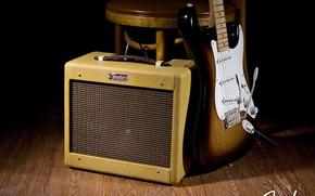 Картинка Гитара, Rock, Рок, Guitar, Fender, Фендер